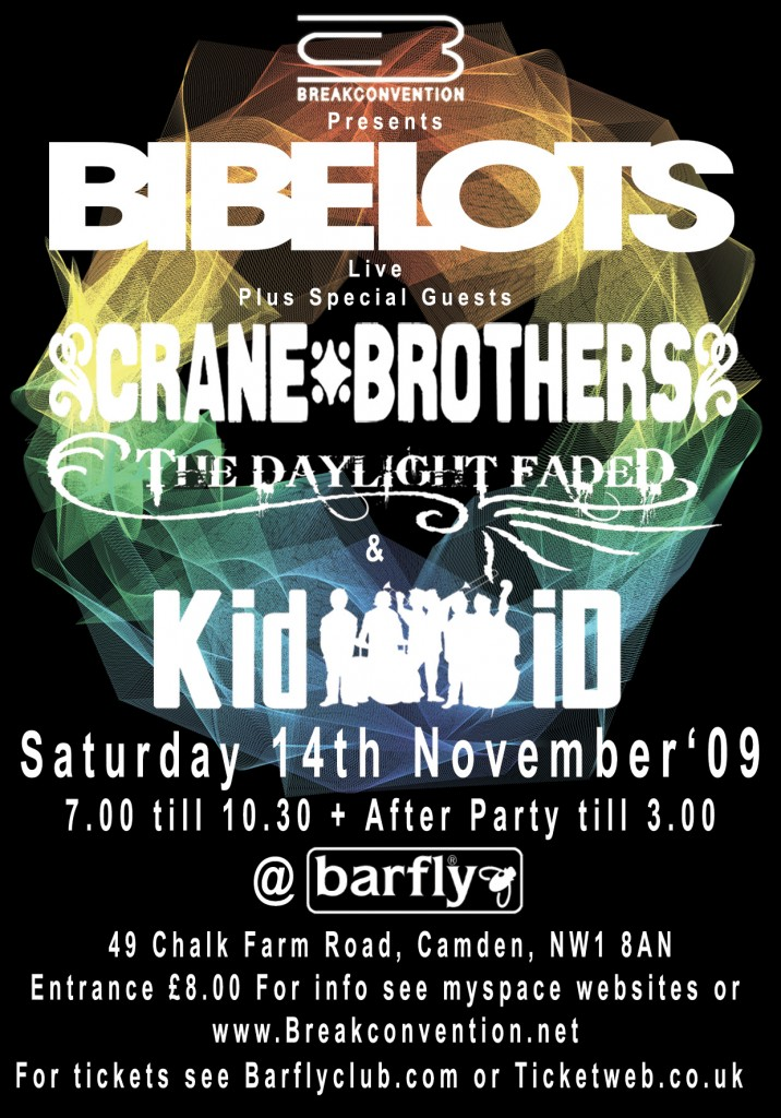 Barfly Poster 14.11.09