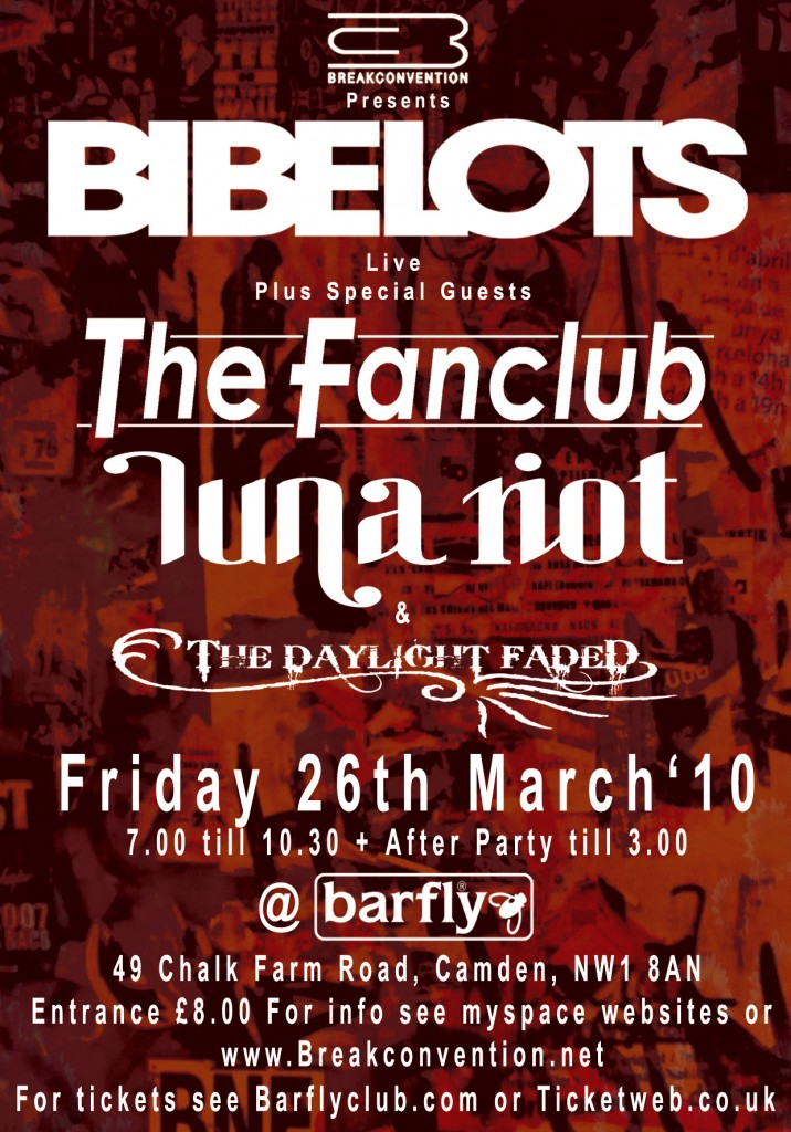 Barfly Poster 26.03.10