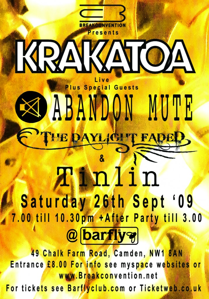 Barfly Poster 26.09.09