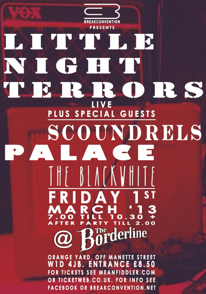 Borderline Poster 01.03.13 Little Night Terrors