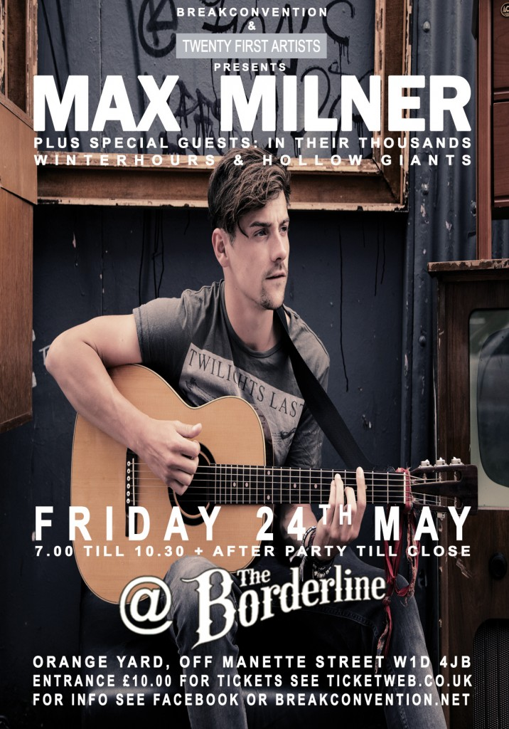 Max Milner Poster 24.05.13 update