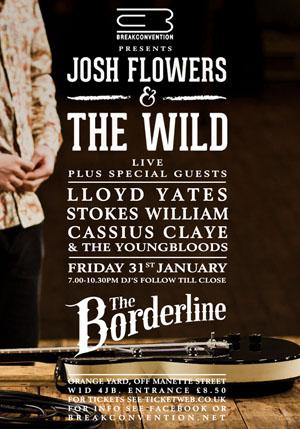 Josh Flowers Poster 31.01.14 jan 14